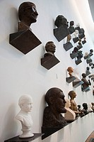 Estonia, Tallinn, Kadriorg area, KUMU, Art Museum of Estonia, gallery of busts