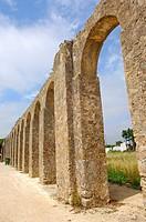 Obidos  Aqueduct  Leiria distric  Estremadura  Portugal.