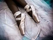 Ballet  Conceptual photo of effort, hard work, endurance, entertainment, elegance