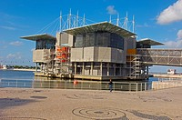 Lisbon  Aquarium in Parque das Nações, Oceanarium at Park of Nations, Lisbon Expo 98  Portugal.