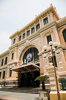 Colonial post office, Ho Chi Minh City, Vietnam