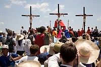 Cruxifixion of Flagellants on Good Friday, San Pedro Cutud, Pampanga, Philippines