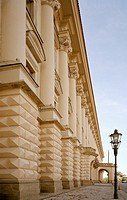 Cernin Palace in the Hradcany District of Prague in the Czech Republic  Now the home of the Czech Foreign Ministry