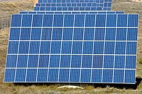 photovoltaic solar panel for renewable electric energy production