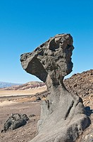 Mushroom Rock, Rock formation, Death Valley National Park, California, USA