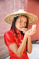 Asian woman´s portrait                                                                                                                                ...
