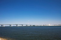 Centrair bridge to Centrair airport, Aichi Prefecture, Honshu, Japan