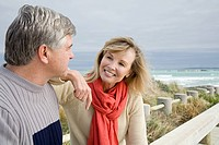 Mature couple at the coast (thumbnail)