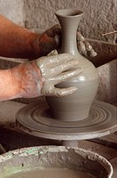 Italy, Campania, Vietri, ceramic craft                                                                                                                ...