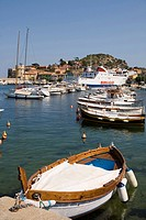 Italy, Tuscany, Giglio Island, the harbour                                                                                                            ...