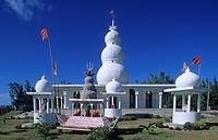Africa, Mauritius, Est Coast, temple hindu ...