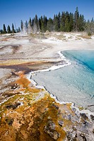 USA, Wyoming, Yellowstone National Park, West Thumb Geyser Basin                                                                                      ...