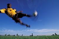 Soccer player ...