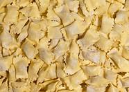 ravioli del plin, fresh pasta, piedmontese cuisine