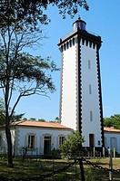 France, Gironde, Bordeaux, World Heritage Site, Le Verdon-sur-Mer, The lighthouse.