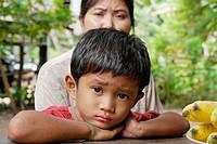 CAMBODIA. Nat Sokatt 4, son of Sovat Komsonath and Say Choun, Ban Bung village, Stung Treng district
