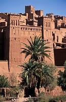 Morocco, Ait Ben Haddou Kasbah. Overland