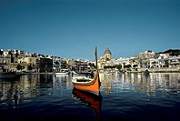 Malta, Valletta, Cottonera, view of S.Lorenzo Wharf