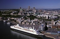 Canada, Quebec, Quebec City, old harbour