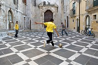 Italy, Sicily, Siracusa, the Ortigia quarter