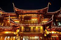 China, Shanghai, Yuyuan garden shopping centre
