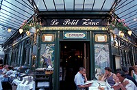 Paris, France, bars and restaurants