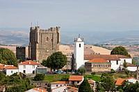 Portugal summer 2010, Braganza City,Braganza Castle, Santa Maria Church,Domus Municipalis.