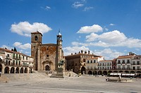Spain, summer 2010,Extremadura Region,Trujillo City,Mayor Square.