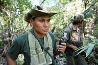 Karen National Union KNU rebels in Burma