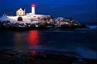 Twilight, Nubble Lighthouse