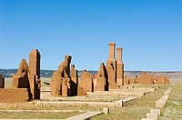 Fort Union National Monument, New Mexico  Established in 1851 as a guardian and protector of the Santa Fe Trail