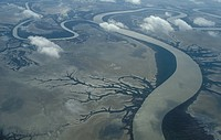 Australia, Cape York, Carpenteria, the river delta and swamps