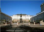 Poland Warsaw Namiestnikowski Palace
