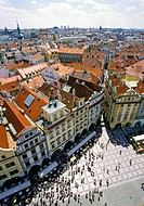 Prague Czech Republic from Town Hall