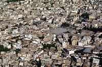 Greece, Peloponnesus, city of Argos, aerial view