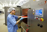 Microwave technology for food processing: pasteurization, thawing, cooking and dehydration, AZTI-Tecnalia Marine and Food Research Center pilot plant,...