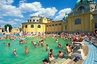 Budapest,Szechenyi Baths