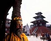 Nepal, Katmandu, Sadhu holy man