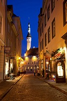 Baltic States, Estonia, Tallinn