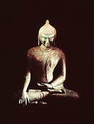 Bronze Buddha image, Bagan period, private collection, , Burma