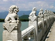 Beijing, China,the Summer Palace, bridge