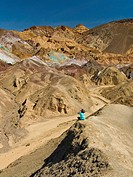 USA, California, Death Valley ntl. park, artist´s palette