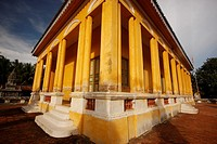 Temple in the city of Battambang, Cambodia