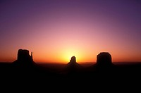 USA _ Arizona, The Mittens Monument Valley