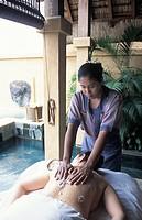 Mauritius, Hotel De Oberoi, spa, coconut massage