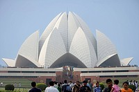 Delhi, Lotus Temple, India