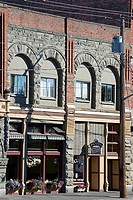 USA, Washington state, Port Townsend. Water street buildings