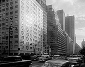 USA, New York, Manhattan, Park Avenue looking South from 57th Street