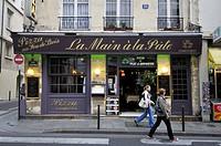 Restaurant. Latin quarter. Paris, France.