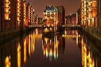 Speicherstadt at Hamburg Harbour, Germany